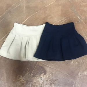 Gap uniform style skirts